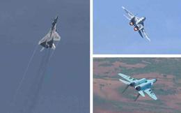 Chiến đấu cơ Triều Tiên thị uy sức mạnh trên không