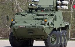 Mỹ giới thiệu phiên bản mới của xe bọc thép Stryker