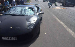 Ai lái siêu xe Lamborghini đâm chết người trên quốc lộ?