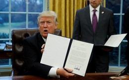 Trump ký sắc lệnh rút khỏi TPP, phá bỏ di sản Obama