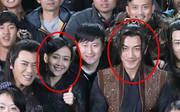 """Chồng Dương Mịch tươi cười rạng rỡ bên """"tình nhân"""" khi scandal ngoại tình lắng xuống"""