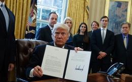 Tỷ lệ tín nhiệm Trump thấp sau tuần đầu nhậm chức