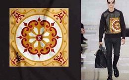 Thiết kế Louis Vuitton sử dụng họa tiết gạch hoa Việt Nam?