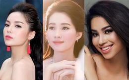 """3 hoa hậu Việt sở hữu góc mặt 3/4 đẹp """"thần thánh"""""""