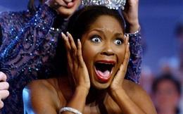 Clip Hoa hậu Pháp 1989 ngất xỉu khi đăng quang gây chú ý