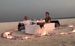 Trương Vệ Kiện đón tuổi 52 bên vợ ở hòn đảo không người