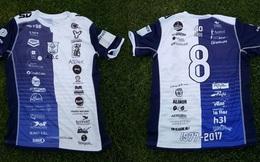 Đội bóng Argentina lập kỷ lục về quảng cáo áo đấu