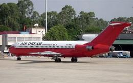 Cận cảnh máy bay vô chủ 10 năm ở sân bay Nội Bài