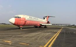 Máy bay vô chủ 10 năm ở Nội Bài đang đỗ ở vị trí khẩn nguy