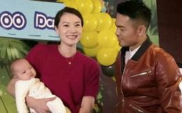 Vượt qua bê bối ngoại tình, Lin Dan tình cảm bên vợ mừng 100 ngày con trai