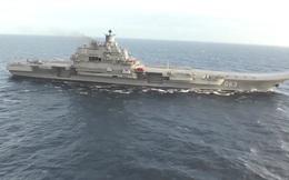 Hơn 50 tàu NATO áp sát tàu sân bay Nga trên đường đến Syria