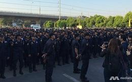 4.000 cảnh sát vây bắt sư trụ trì bị tố tham nhũng ở Bangkok