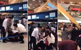 Khách Trung Quốc đánh nhân viên sân bay vì bị hoãn chuyến
