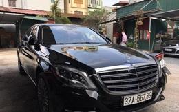 """Siêu xe 14 tỷ đeo biển """"san bằng tất cả"""" ở Nghệ An"""