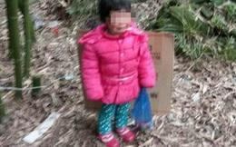 Bé gái bị gia đình trói vào gốc tre rồi bỏ mặc ngoài nghĩa địa