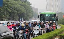 Giờ nào đi vào làn xe buýt BRT sẽ bị phạt?