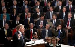 Dân Mỹ khen bài phát biểu đầu tiên của ông Trump trước Quốc hội