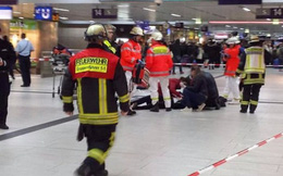 Tấn công bằng rìu tại nhà ga ở Đức, 5 người bị thương