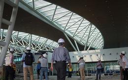 Chùm ảnh: Cận cảnh nhà ga hành khách quốc tế hơn 3.500 tỷ đồng sắp hoàn thành ở Đà Nẵng