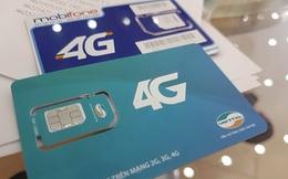 SIM 4G 'mua một lần dùng cả năm' đắt hàng trên mạng