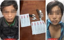 Đặc nhiệm đá bay dao trên tay kẻ nhiễm HIV