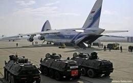 500 xe bọc thép Nga tung hoành khắp Syria diệt khủng bố
