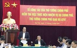 Thủ tướng: Bộ Giao thông phải dừng cấp phép nạo vét sông