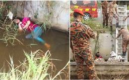 Thấy thiếu nữ chết đuối dưới kênh, cảnh sát lao đến giải cứu và phát hiện sự thật bất ngờ