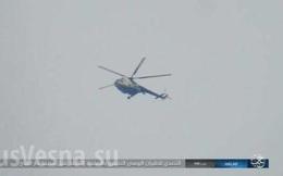 Khoảnh khắc IS nỗ lực bắn hạ Mi-8 Nga
