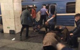 Nổ ở ga tàu điện ngầm St. Petersburg, 10 người thiệt mạng