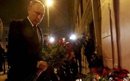 Tổng thống Putin đến hiện trường vụ nổ, Nga truy nã 2 nghi phạm đánh bom