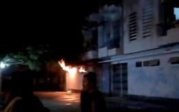 Cháy tầng trệt ký túc xá, nhiều sinh viên bị thương