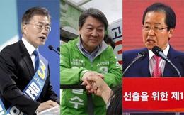 Lộ diện 3 ứng cử viên Tổng thống Hàn Quốc