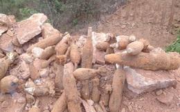 Bất ngờ phát hiện hầm chứa nhiều loại đạn pháo ở Quảng Ninh