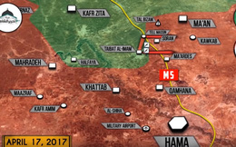 """""""Hổ Syria"""" không thành công trong trận đánh chiếm thị trấn phiến quân ở Hama"""