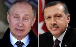 Ông Putin chúc mừng chiến thắng của Tổng thống Thổ Nhĩ Kỳ