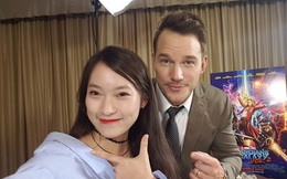 Không chỉ phỏng vấn trực tiếp, Khánh Vy còn tự tin rap dành tặng tài tử Hollywood Chris Pratt