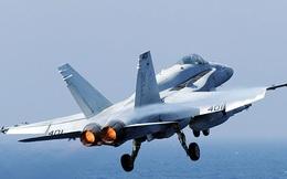 F/A-18 trên tàu sân bay USS Carl Vinson gặp nạn ngoài khơi Philippines