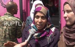 Chiến sự Syria: Cuộc di tản khổng lồ thoát khỏi vòng vây phiến quân thánh chiến