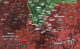 """Không quân Nga càn quét, """"Hổ Syria"""" đánh chiếm thị trấn phiến quân thánh chiến"""