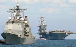 """Tàu sân bay Mỹ tập trận với Nhật Bản sau một thời gian """"lạc đường"""""""