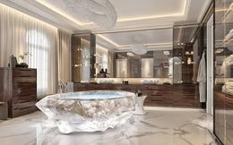 Chiêm ngưỡng bồn tắm làm từ đá quý rừng rậm Amazon 22 tỷ đồng