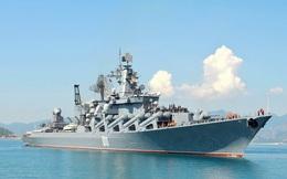 Tuần dương hạm tên lửa mạnh nhất của Nga cập cảng Cam Ranh