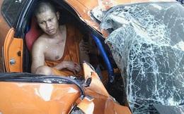 """Mượn siêu xe như trong """"Fast and Furious"""" của bạn lái thử, sư thầy Thái Lan gây tai nạn nghiêm trọng"""