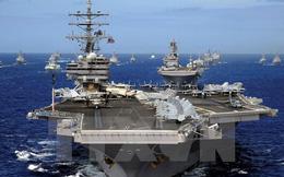 """Mỹ triển khai """"siêu tàu sân bay"""" trên biển Thái Bình Dương"""