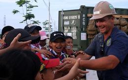 Hải quân Mỹ - Nhật dầm mình trong nắng, góp 1.500 ngày công để xây trường mầm non cho trẻ em Đà Nẵng