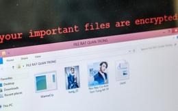 Muốn biết máy dính ransomware WannaCry trông như thế nào? Chúng tôi đã quay video thực tế cho bạn xem!