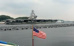 Thêm tàu sân bay Mỹ tuần tra gần bán đảo Triều Tiên