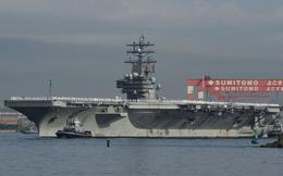 Tàu sân bay Mỹ USS Ronald Reagan sắp đến Triều Tiên