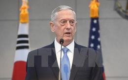 """Bộ Quốc phòng Mỹ: Giải pháp quân sự với Triều Tiên sẽ là """"thảm họa"""""""